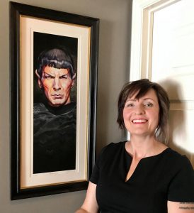 """Pure Logic"" Limited Edition Spock art giclee print"