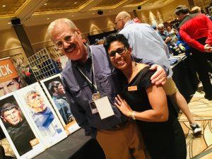 Rick Sternbach and Kavita Maharaj